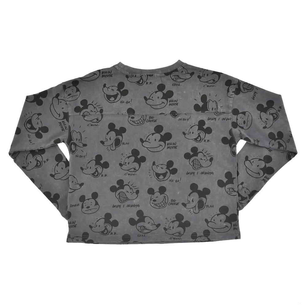 ミッキー 長袖Tシャツ Artist Series by Bret Iwan