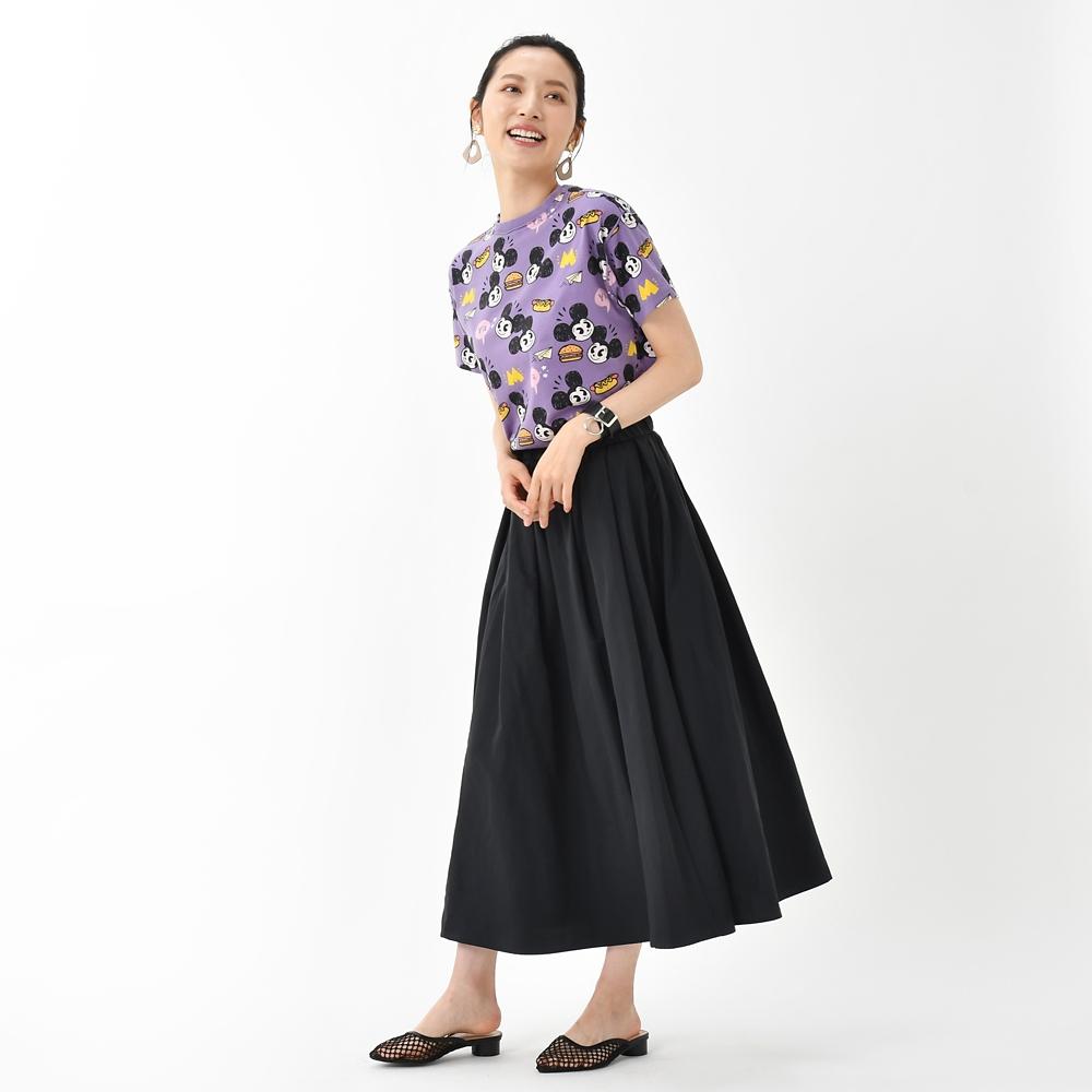 ミッキー 半袖Tシャツ 総柄 Artist Series by Nanako Kanemitsu