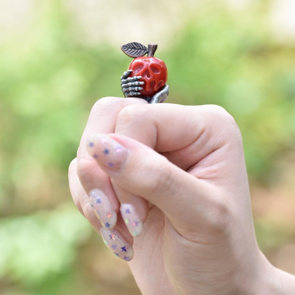 【キューポット】リング/白雪姫毒リンゴ 13号