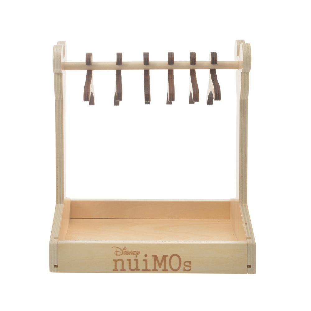 nuiMOs ぬいぐるみ専用ワードローブ ウッド調