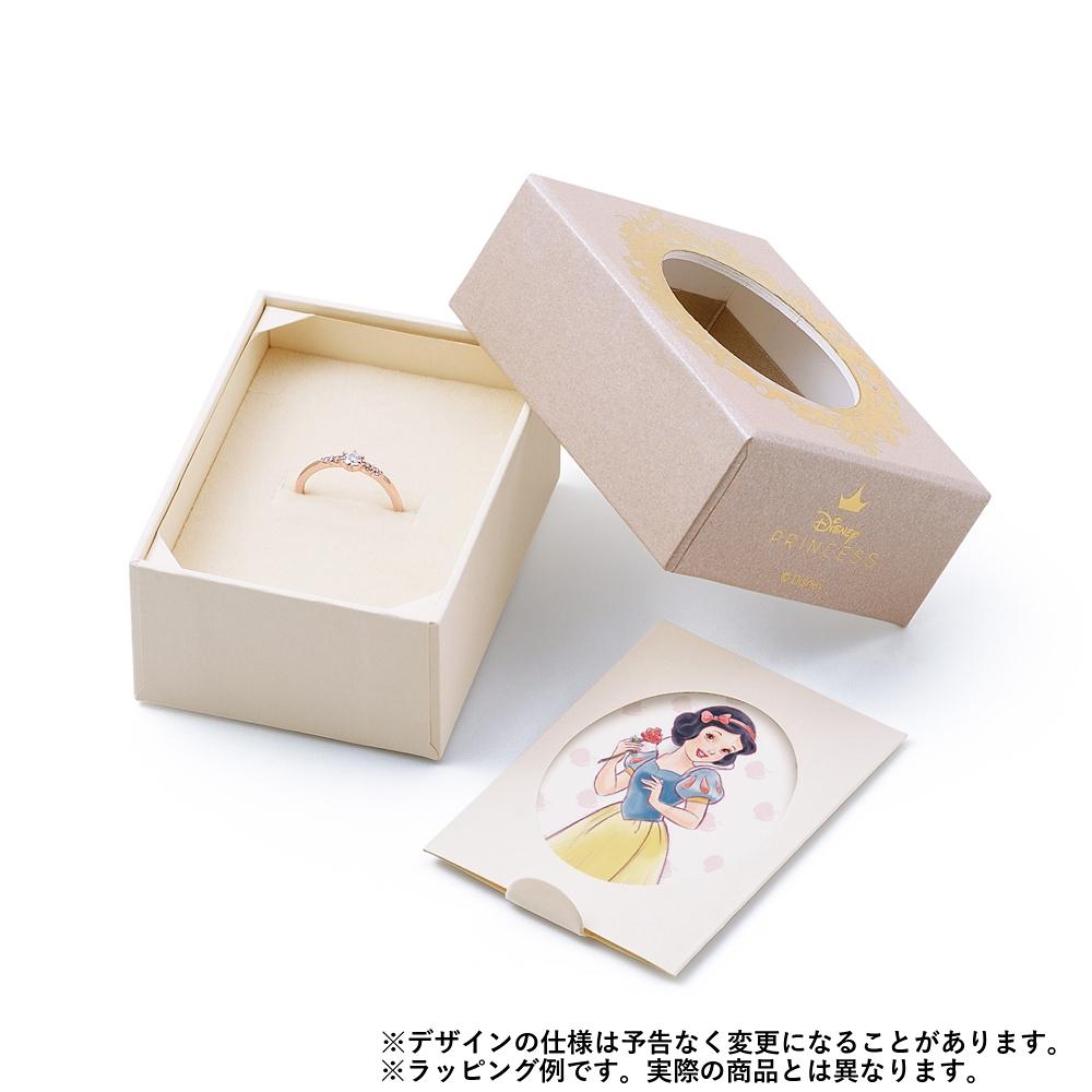 【ザ・キッス】DI-PN1812YSP ディズニープリンセス 白雪姫 / ピンクゴールド ネックレス