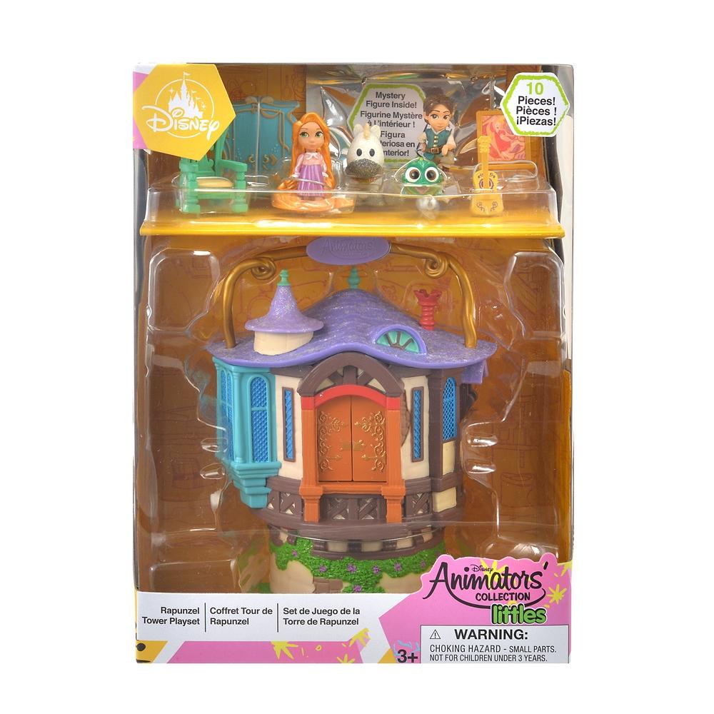 ディズニー アニメーターズ コレクション ラプンツェル&フリン・ライダー 塔の上のラプンツェル プレイセット リトル