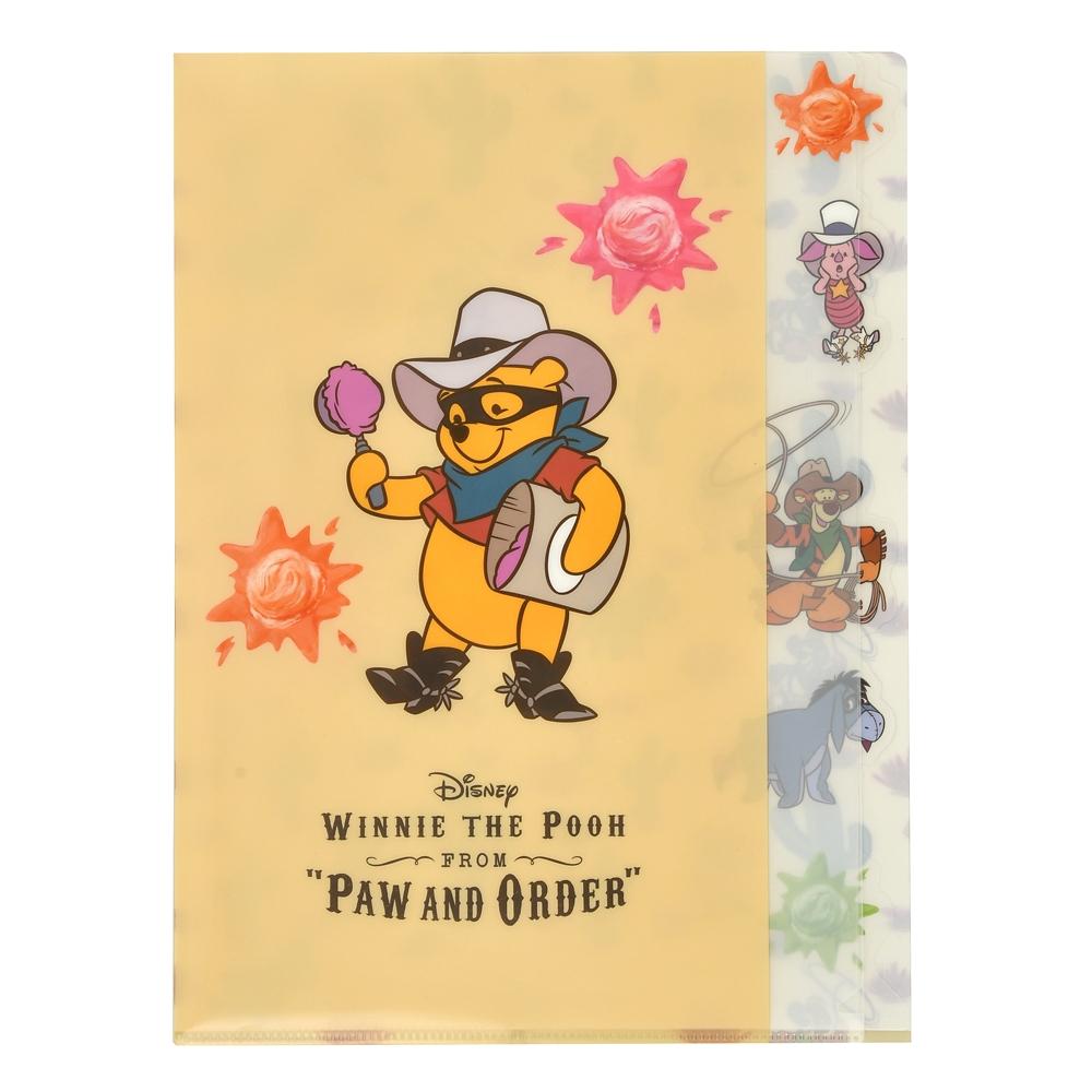 プー&フレンズ クリアファイル インデックス Western Pooh