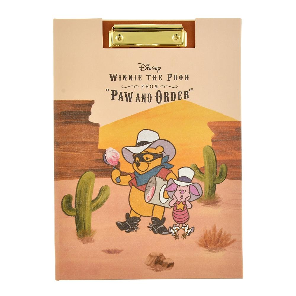 プー&フレンズ クリップファイル Western Pooh