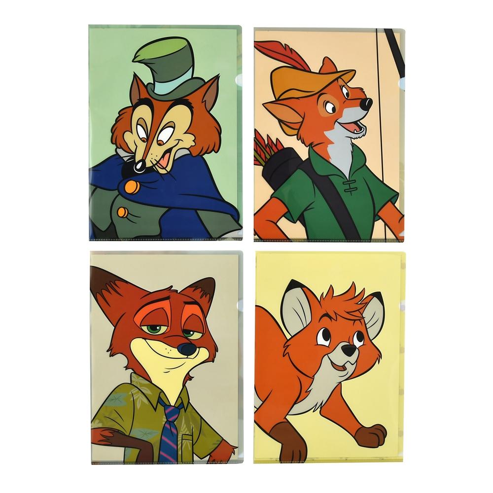 ディズニーキャラクター クリアファイル The Fox and the Hound 40th