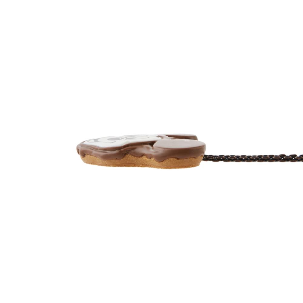 【キューポット】ミッキーマウス/ネックレス チョコレートケーキ