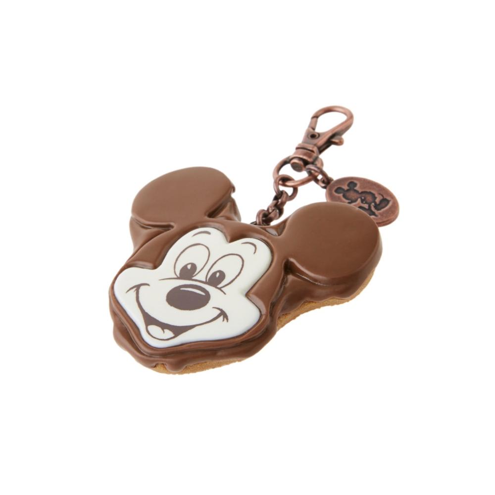 【キューポット】ミッキーマウス/バッグチャーム チョコレートケーキ