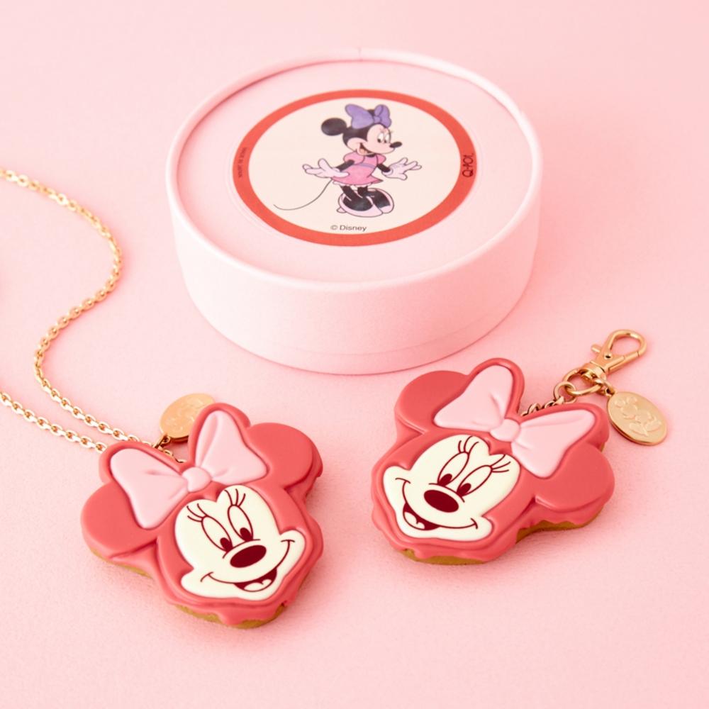 【キューポット】ミニーマウス/バッグチャーム チョコレートケーキ