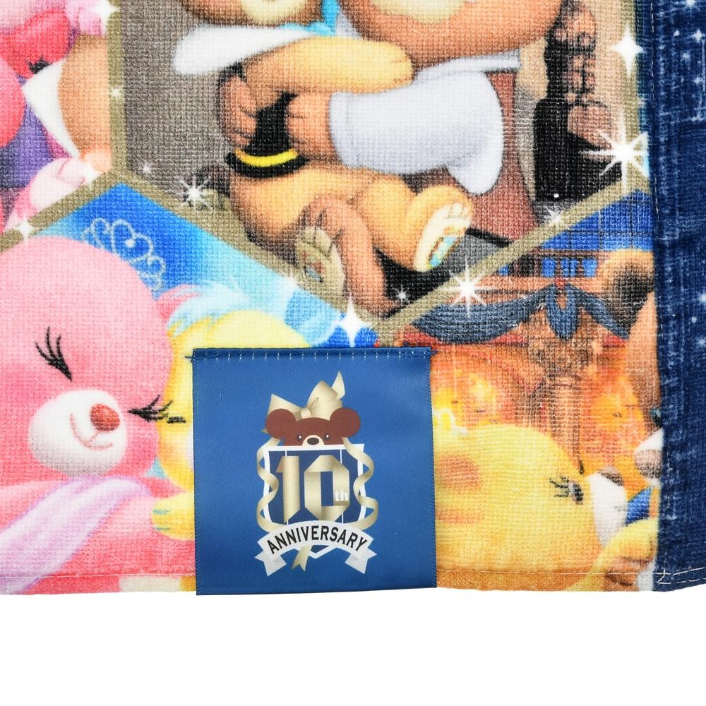 ユニベアシティ バスタオル クリスタルアート UniBEARsity 10th ANNIVERSARY