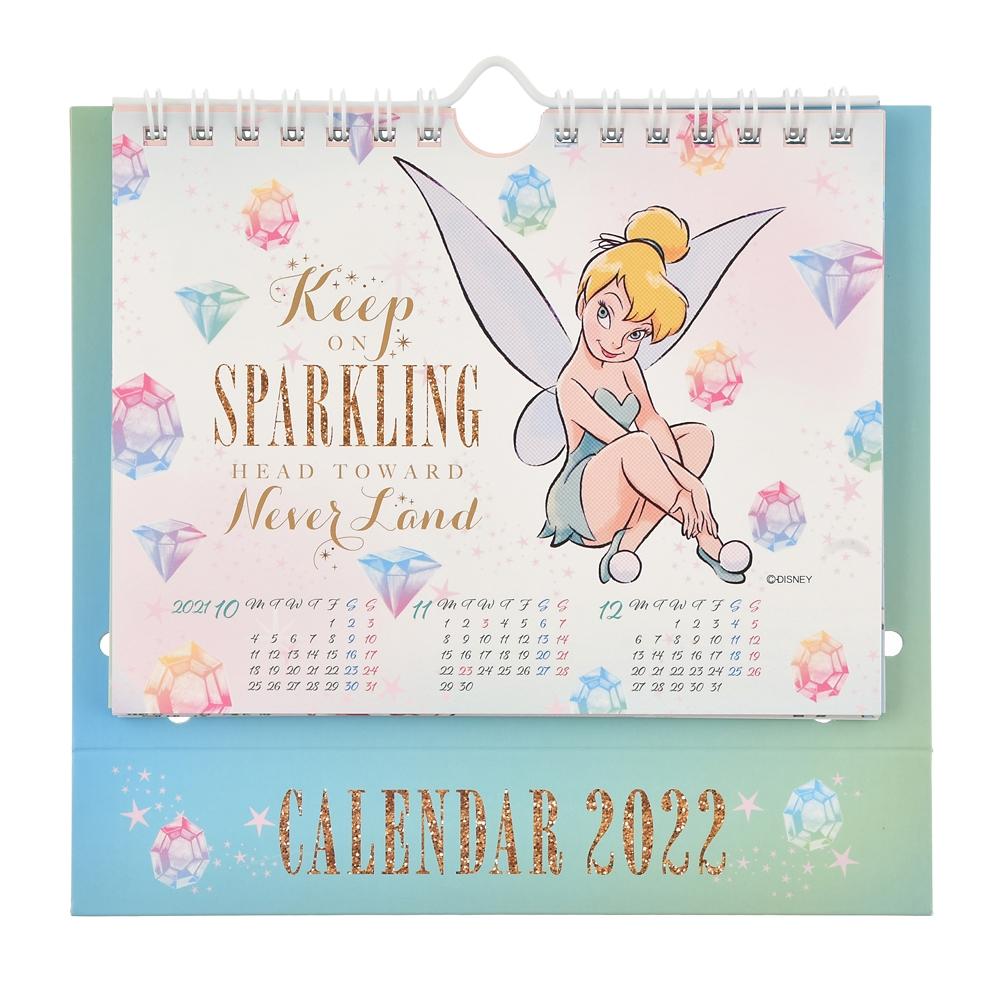 ティンカー・ベル 卓上カレンダー 2022 Sparkle ポップアップ CALENDARS & ORGANIZERS