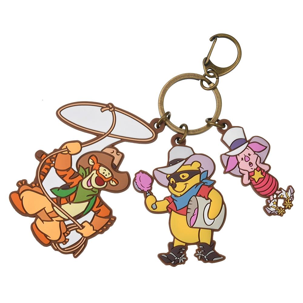 プーさん、ピグレット、ティガー キーホルダー・キーチェーン ジャラジャラ Western Pooh