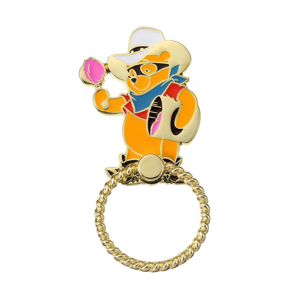 プーさん スマートフォンリング Western Pooh
