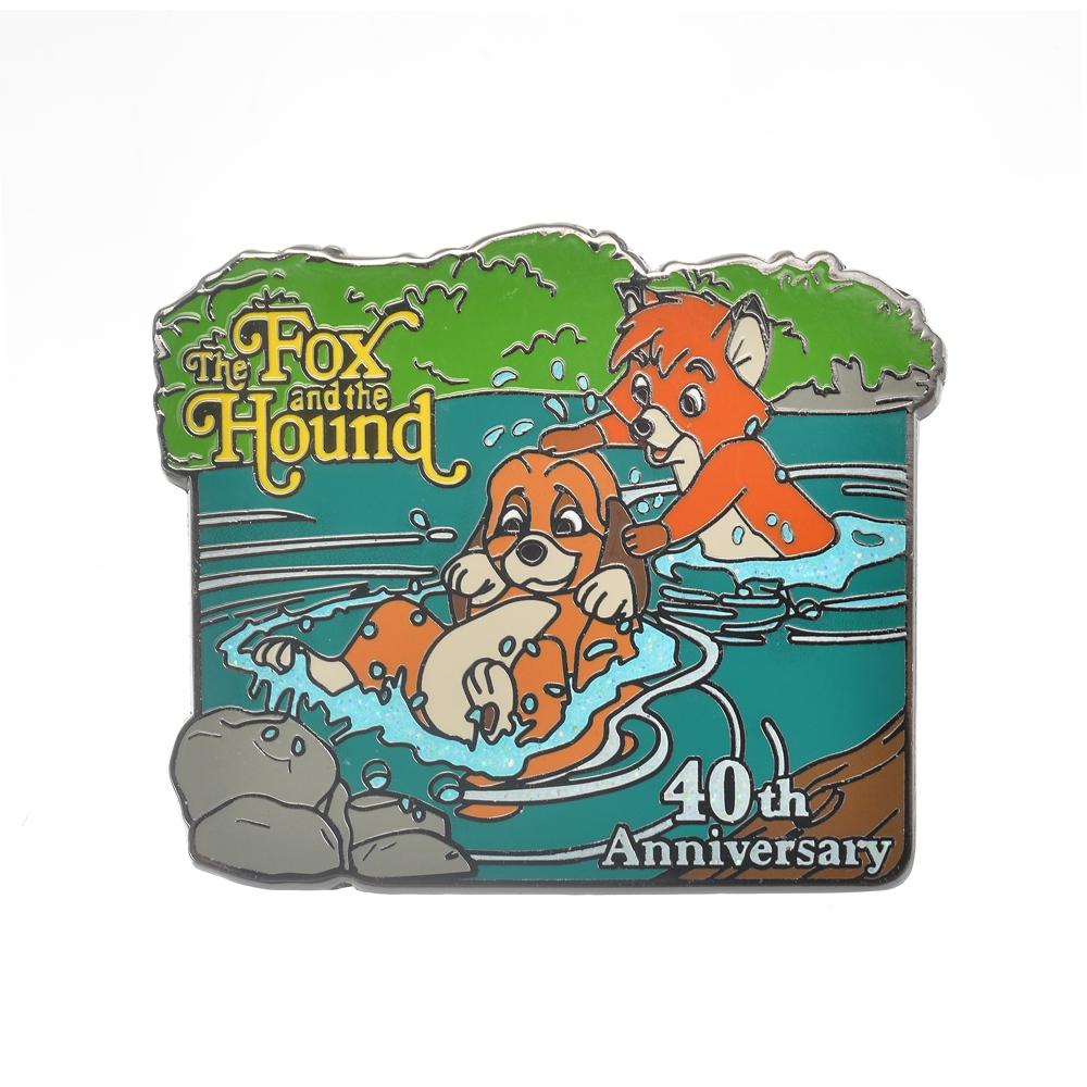 トッド&コッパ― ピンバッジ きつねと猟犬 レガシー The Fox and the Hound 40th