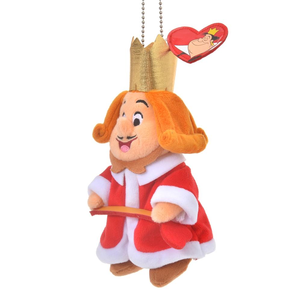 王様 ぬいぐるみキーホルダー・キーチェーン ふしぎの国のアリス Alice in Wonderland 70