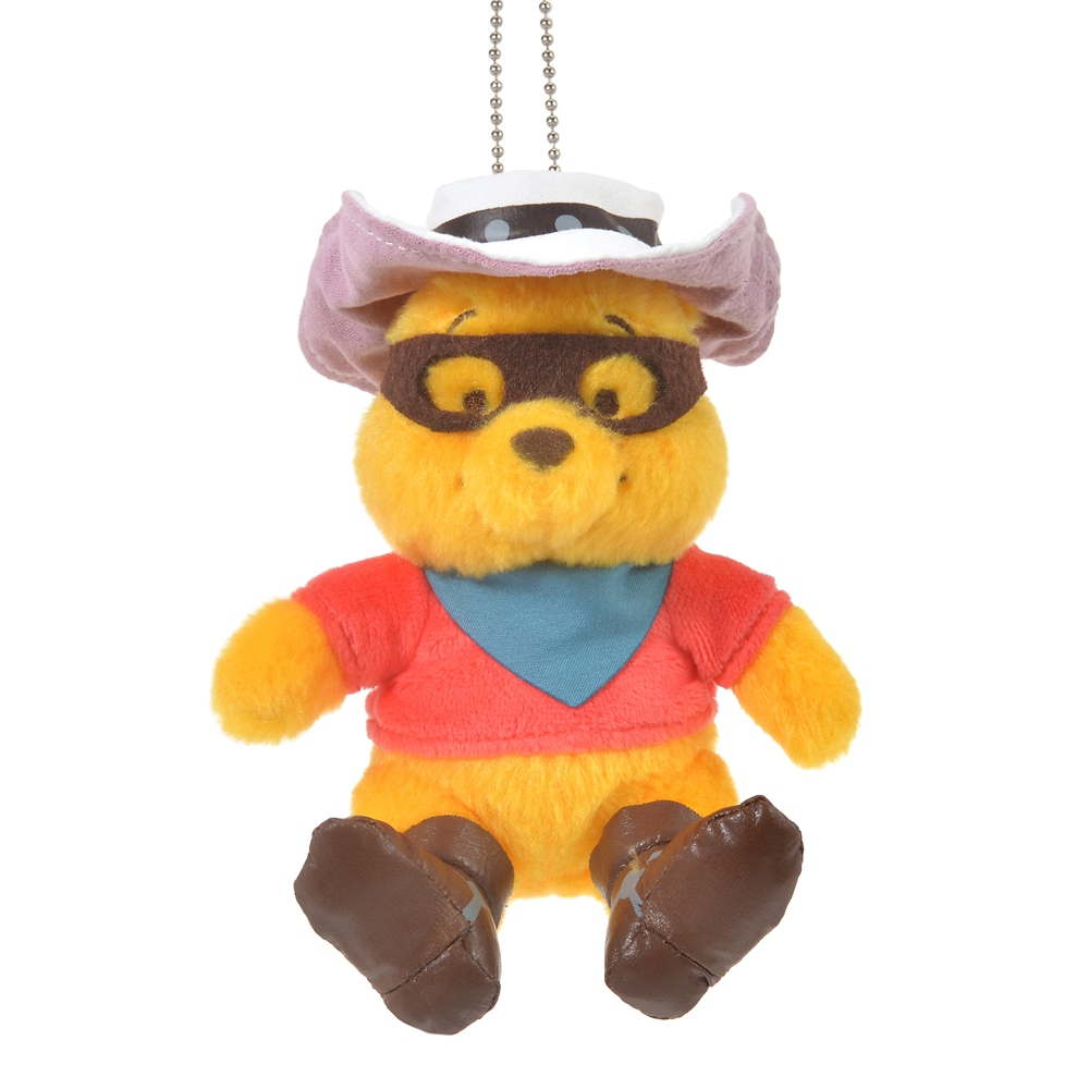 プーさん ぬいぐるみキーホルダー・キーチェーン Western Pooh