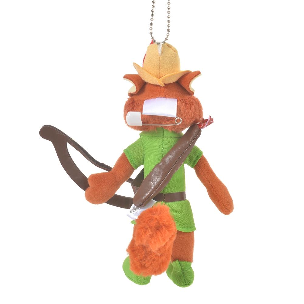 ロビン・フッド ぬいぐるみキーホルダー・キーチェーン The Fox and the Hound 40th