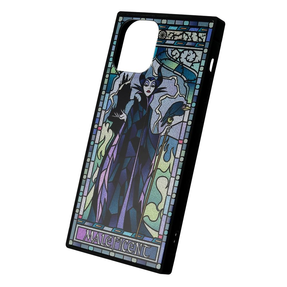 マレフィセント&ディアブロ iPhone 12/12 Pro用スマホケース・カバー グリッター TILEケース Disney Villains 2021