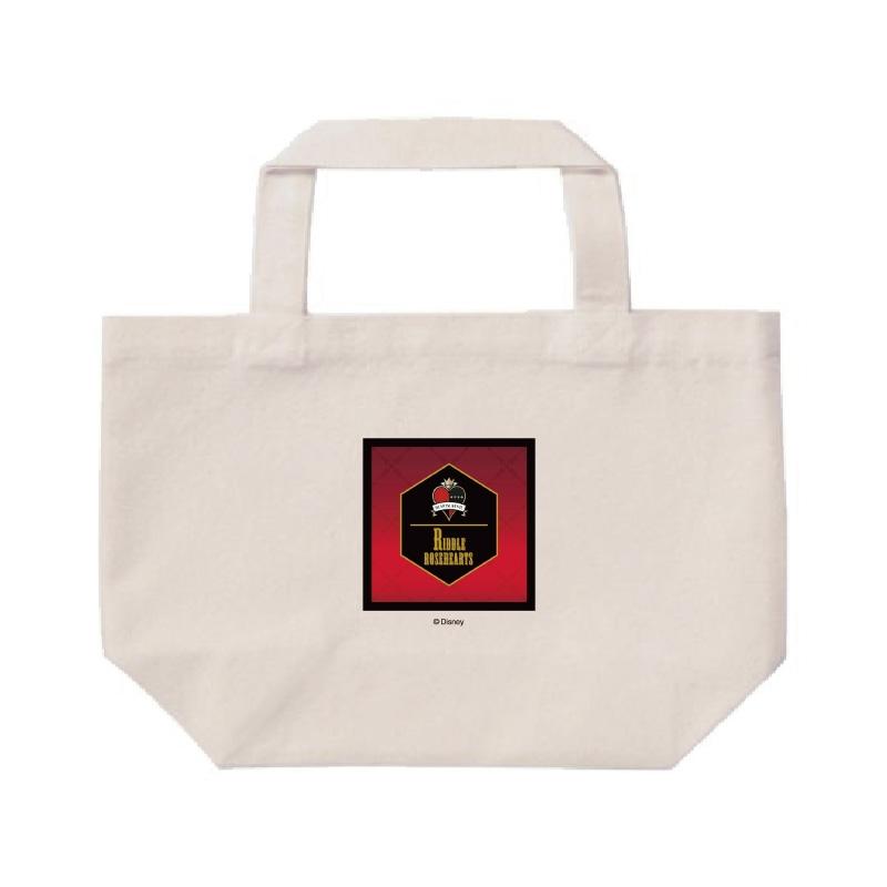 【D-Made】ミニトートバッグ  『ディズニー ツイステッドワンダーランド』 リドル・ローズハート 寮章