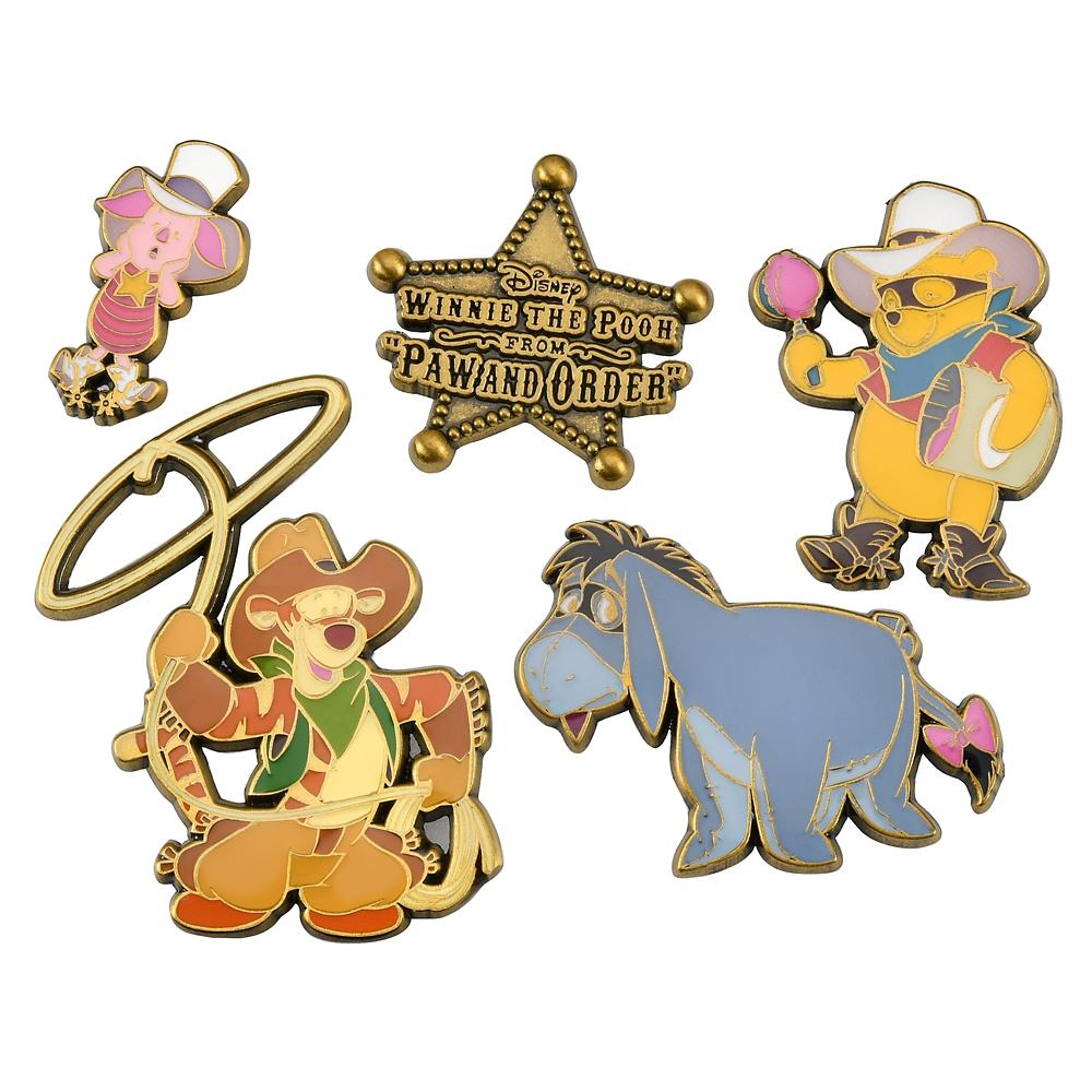プー&フレンズ ピンバッジ セット Western Pooh
