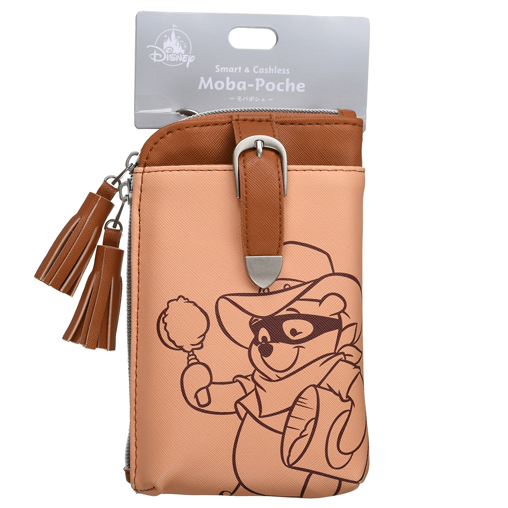 プーさん モバポシェ Mobile Pochette Western Pooh