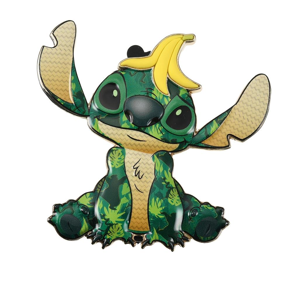 スティッチ ピンバッジ The Jungle Book Stitch Crashes Disney