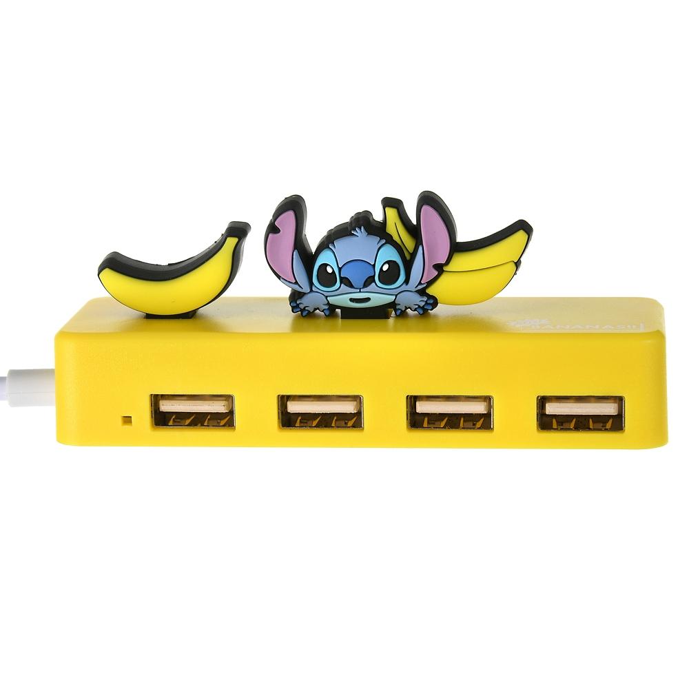 スティッチ USBハブ 4ポート LOTS OF BANANAS
