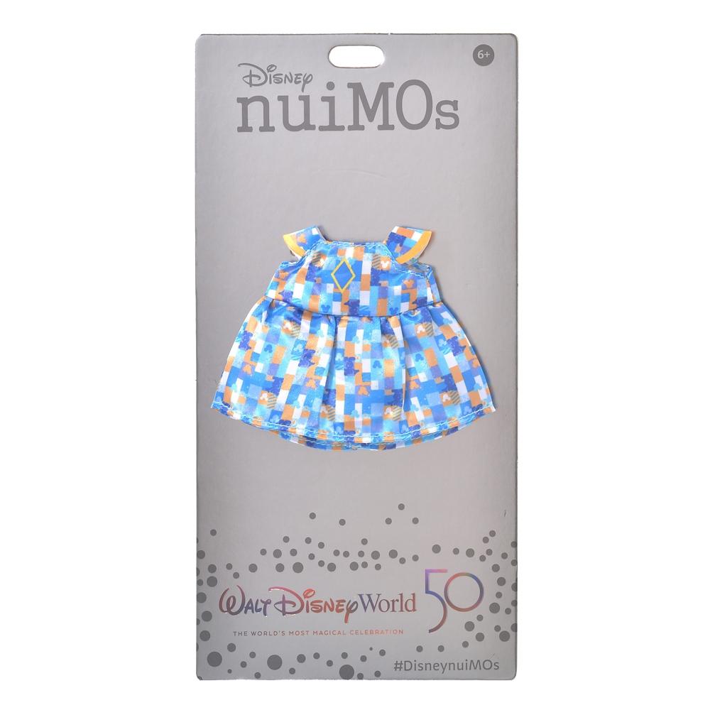 nuiMOs ぬいぐるみ専用コスチューム ワンピース WALT DISNEY World 50TH CELEBRATION