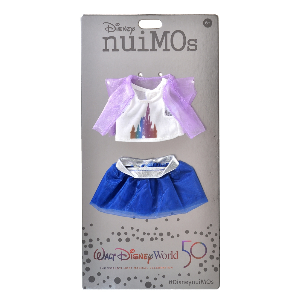 nuiMOs ぬいぐるみ専用コスチューム タンクトップセット WALT DISNEY World 50TH CELEBRATION