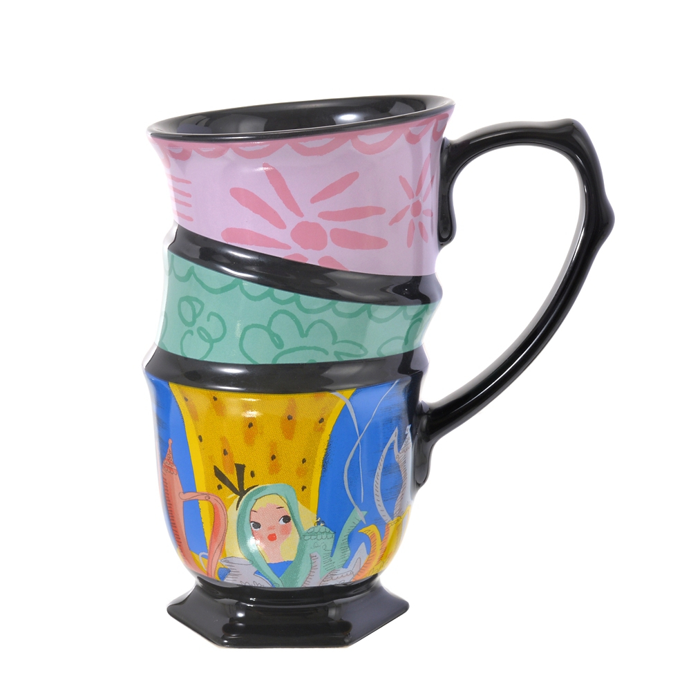 アリス&マッドハッター マグカップ Alice in Wonderland by Mary Blair