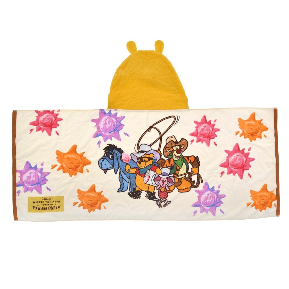 プー&フレンズ タオル フード Western Pooh