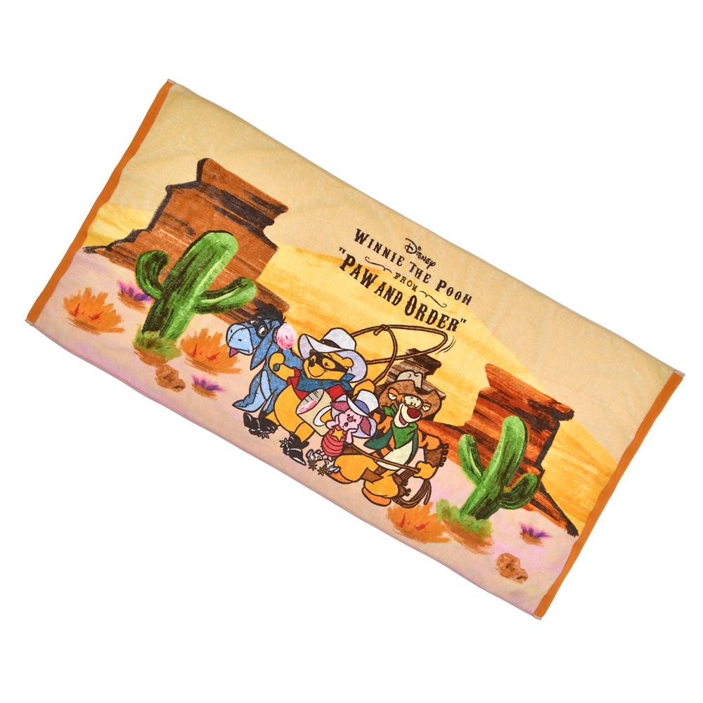 プー&フレンズ バスタオル Western Pooh
