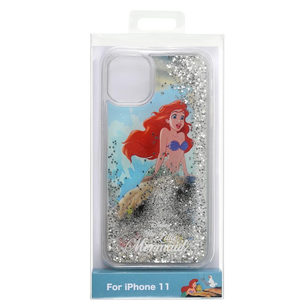 アリエル、フランダー、セバスチャン iPhone 11用スマホケース・カバー スプラッシュ The Little Mermaid