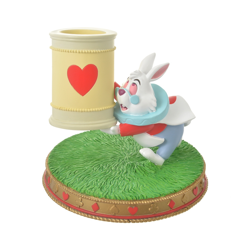 白うさぎ ペンスタンド Alice in Wonderland 70
