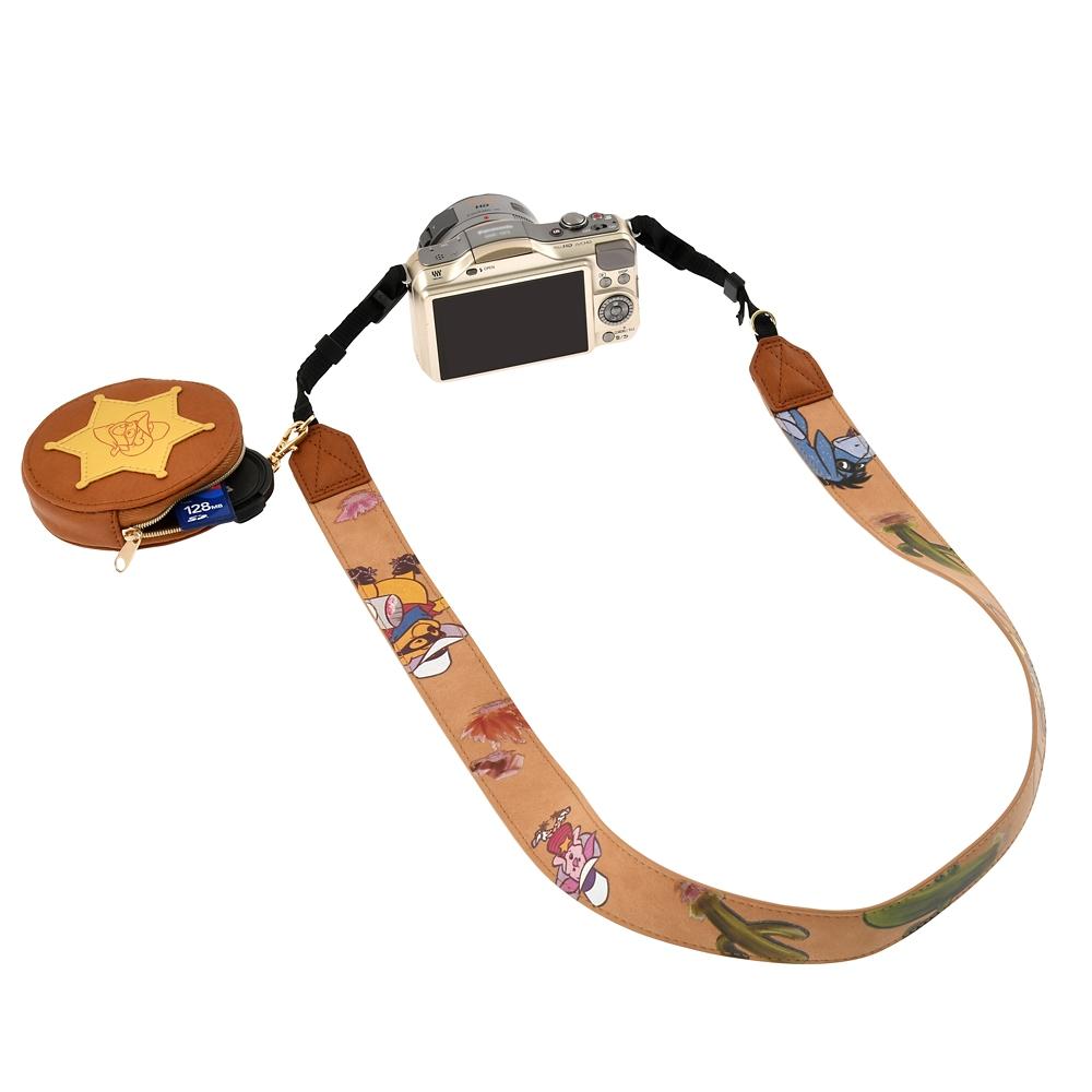 プー&フレンズ カメラストラップ ポーチ付き Western Pooh