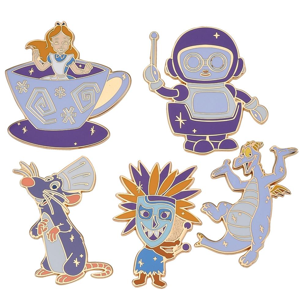 ディズニーキャラクター シークレットピンバッジ WALT DISNEY World 50TH CELEBRATION