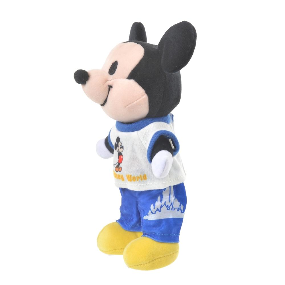 nuiMOs ぬいぐるみ専用コスチューム Tシャツ&パンツ ミッキープリント WALT DISNEY World 50TH VAULT