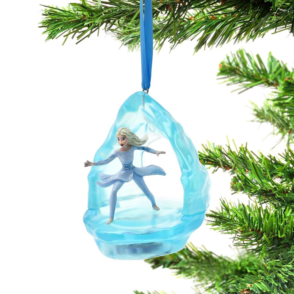 エルサ オーナメント シンギング アナと雪の女王2 Ornament 2021