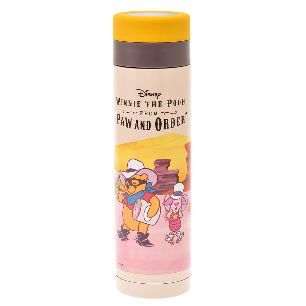 プーさん&ピグレット ステンレスボトル Western Pooh