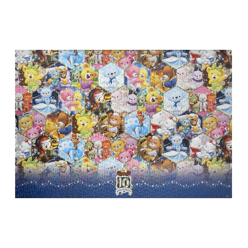 ユニベアシティ ジグソーパズル 1000ピース クリスタルアート UniBEARsity 10th ANNIVERSARY
