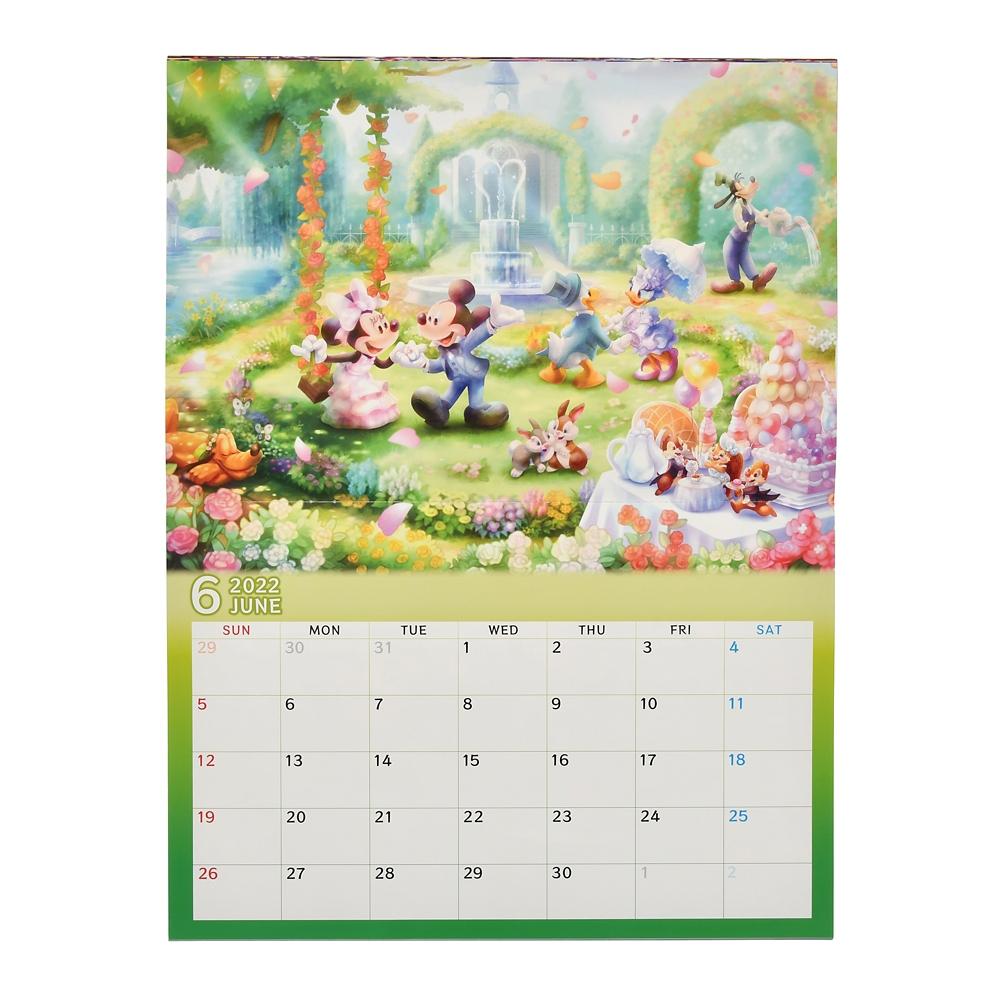 ミッキー&フレンズ 壁掛けカレンダー 2022 CALENDARS & ORGANIZERS