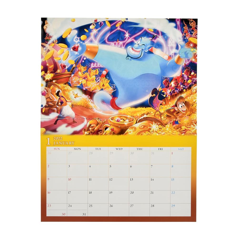 ディズニーキャラクター 壁掛けカレンダー 2022 CALENDARS & ORGANIZERS