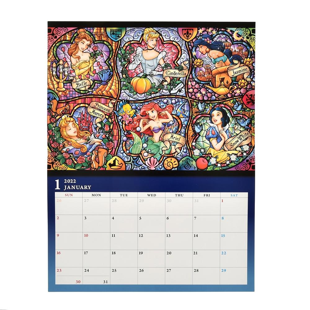 ディズニープリンセス 壁掛けカレンダー 2022 CALENDARS & ORGANIZERS