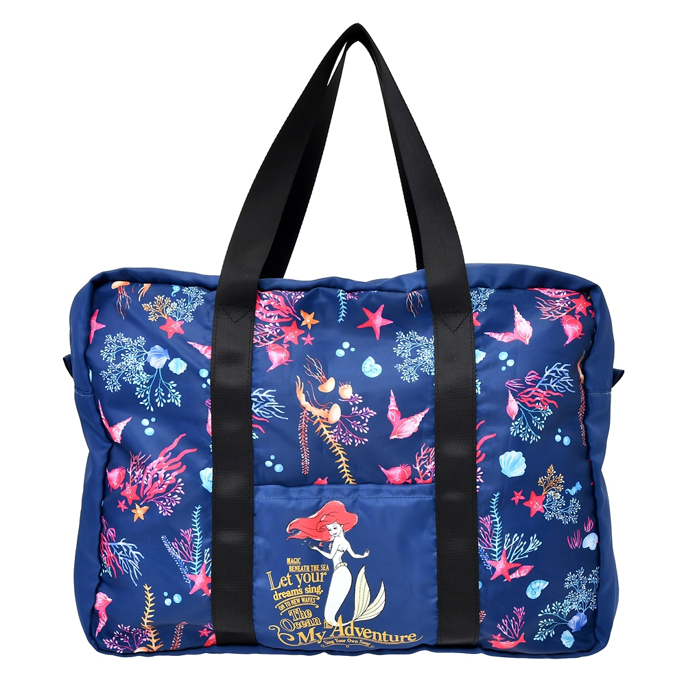 【送料無料】アリエル ボストンバッグ 折りたたみ式 The Little Mermaid 2021