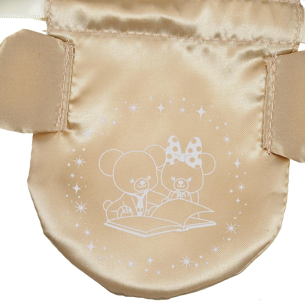 ユニベアシティ ハンドミラー・手鏡 巾着付き クリスタルアート UniBEARsity 10th ANNIVERSARY