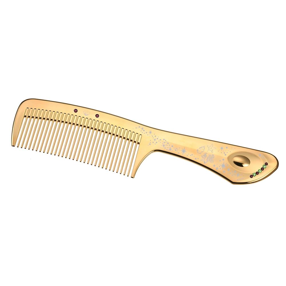 【LOVE CHROME】アリエル ヘアコーム K24GP テツキ ゴールド Hair Cosme