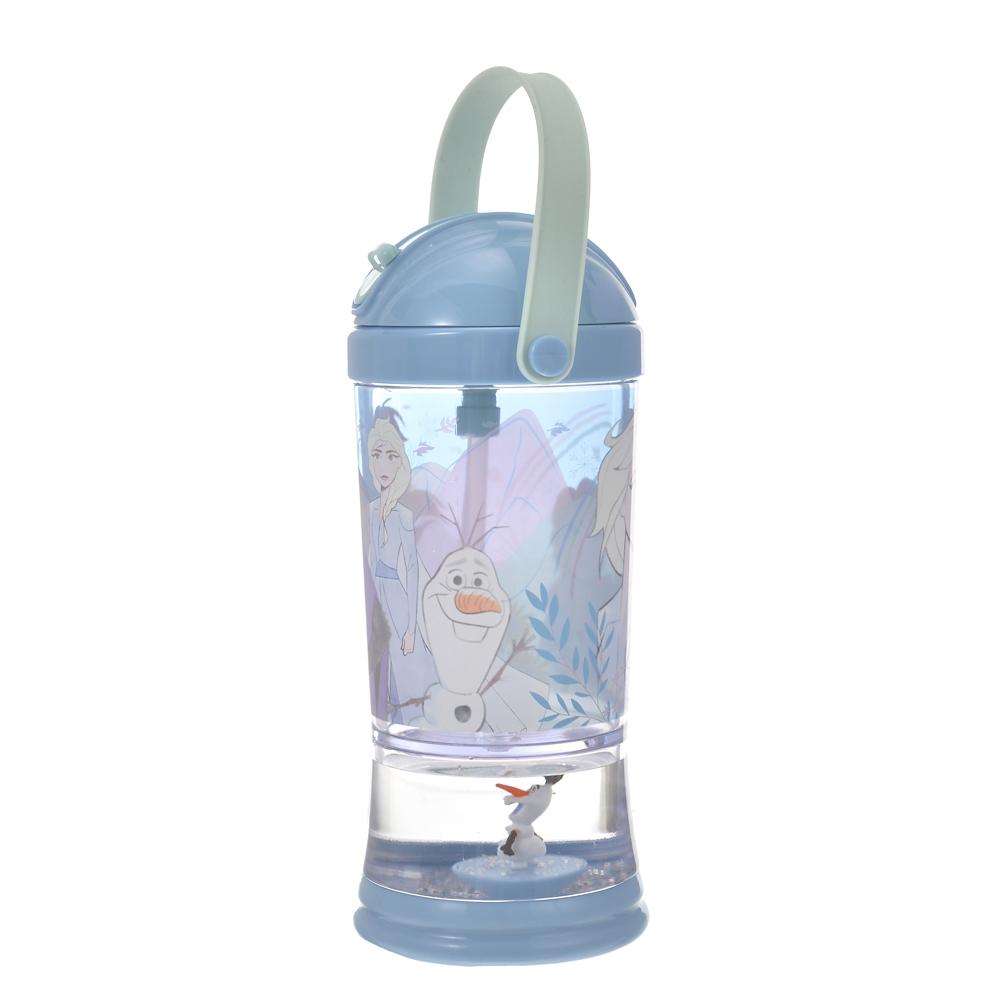 アナ、エルサ、オラフ 水筒・ウォーターボトル スノードーム Wind