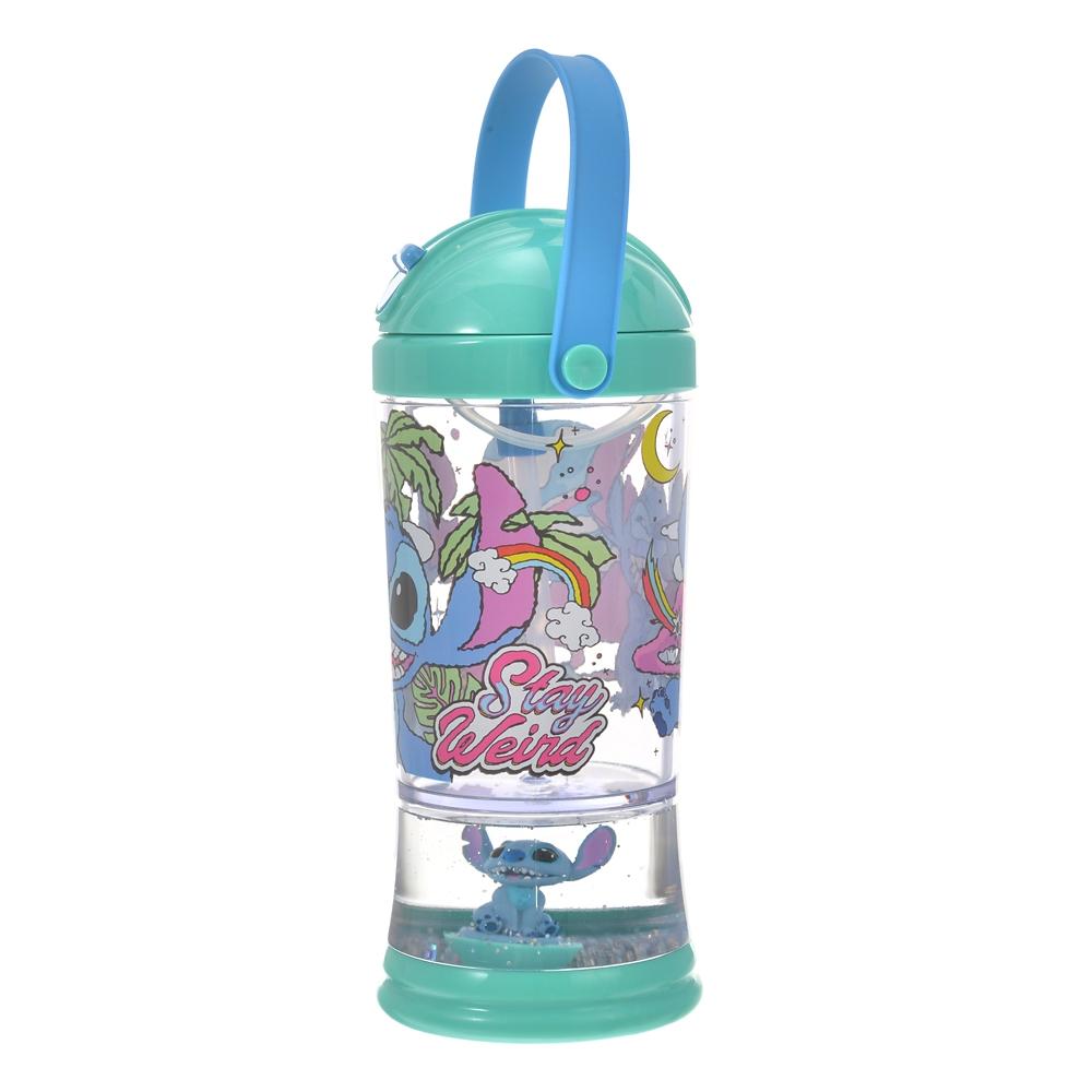 スティッチ 水筒・ウォーターボトル スノードーム カラフルハワイアン