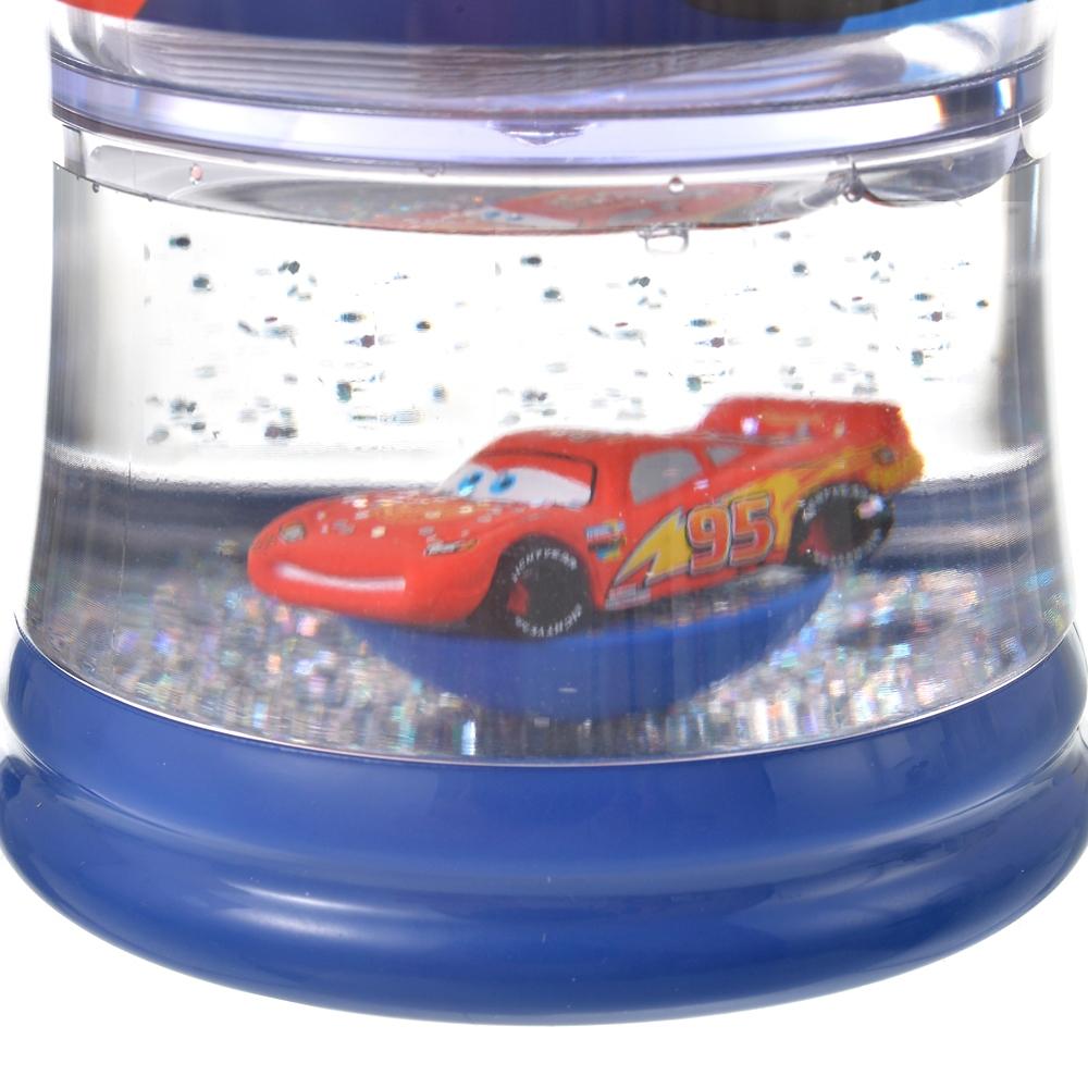 ライトニング・マックィーン&クルーズ・ラミレス 水筒・ウォーターボトル スノードーム Racing