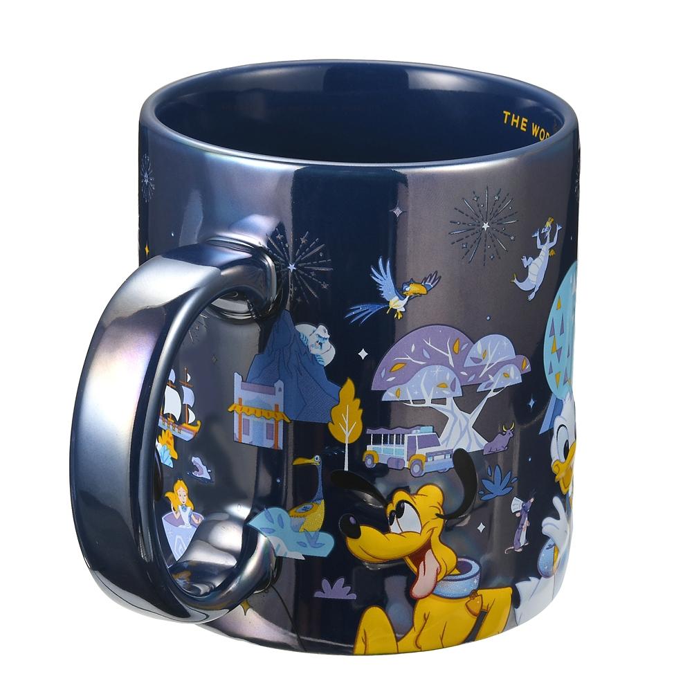 ミッキー&フレンズ マグカップ WALT DISNEY World 50TH CELEBRATION