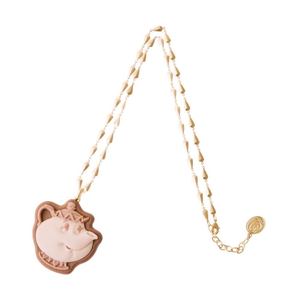 【キューポット】美女と野獣/ネックレス ミセスポット・シュガークッキー